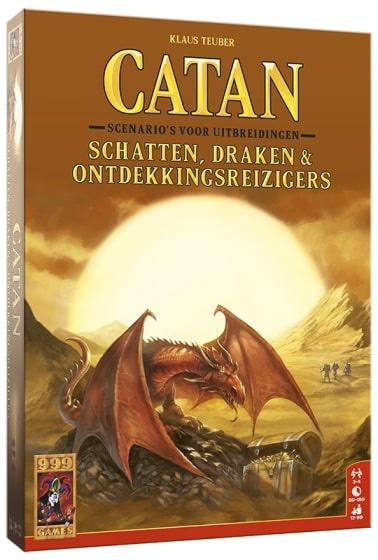 999 Games bordspel Catan: Schatten, Draken & Ontdekkingsreizigers