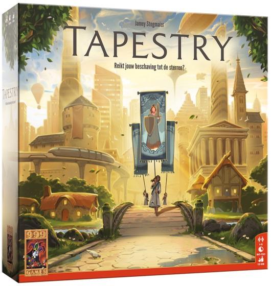 999 Games - Tapestry - Bordspel