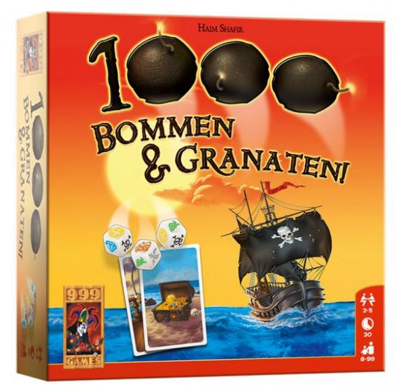 1000 Bommen & Granaten! Dobbelspel