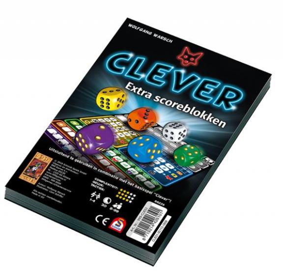 999 Clever Scoreblok 2 stuks