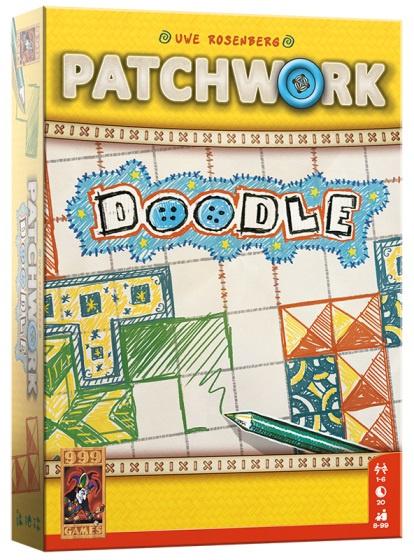 999 Games - Patchwork Doodle Bordspel