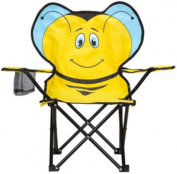 Abbey vouwstoel bij junior geel 60 x 34 x 66 cm