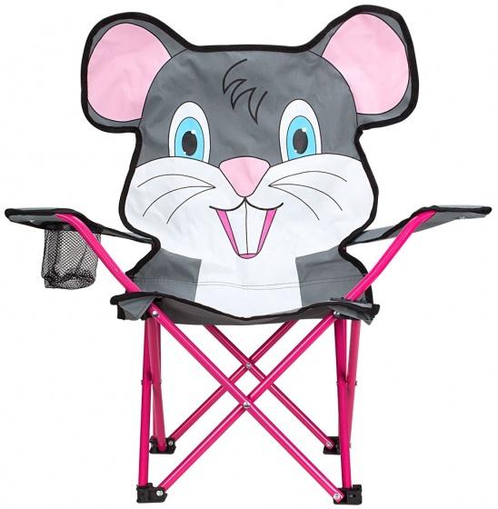 Abbey vouwstoel muis junior grijs 60 x 34 x 66 cm
