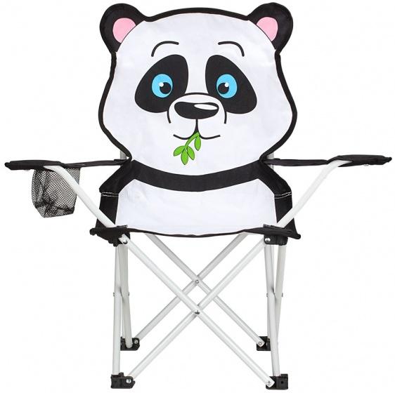 Abbey vouwstoel panda junior wit/zwart 60 x 34 x 66 cm kopen