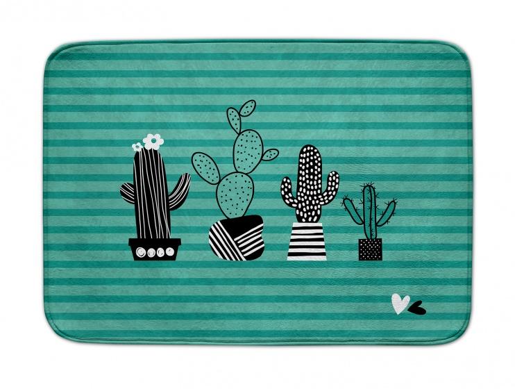 ACHOKA speelkleed Cactussen Decomat 100 x 150 cm groen