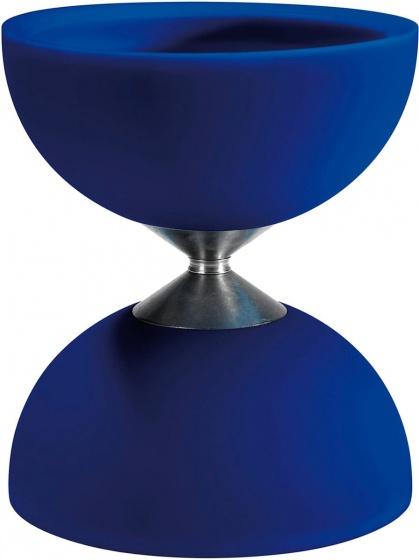 Acrobat diabolo 105 rubber 12 x 10,5 cm blauw