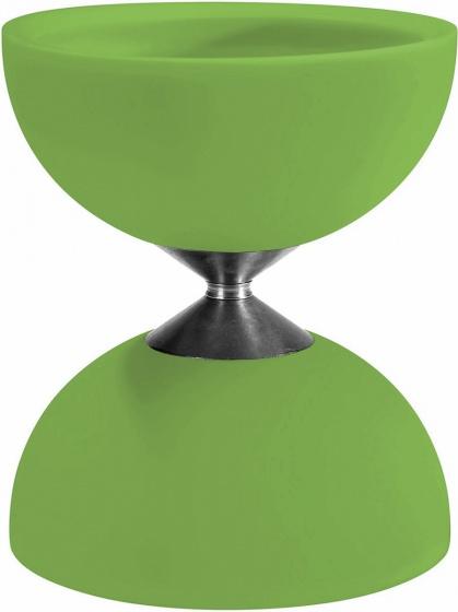 Acrobat diabolo 105 rubber 12 x 10,5 cm groen