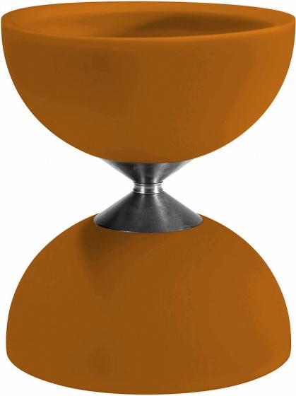 Acrobat diabolo 105 rubber 12 x 10,5 cm oranje