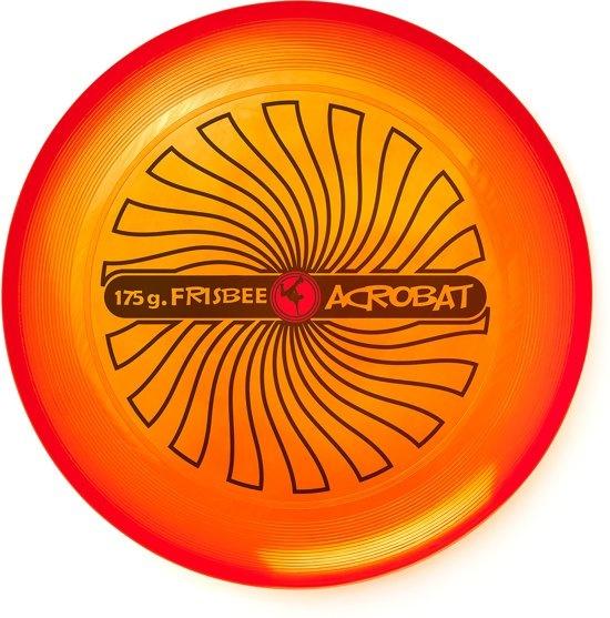 Acrobat frisbee 27,5 cm oranje