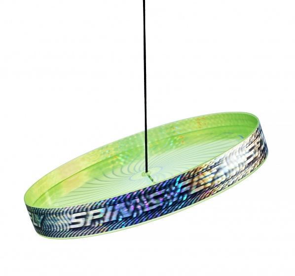 Acrobat jongleerfrisbee Spin & Fly groen 23 cm