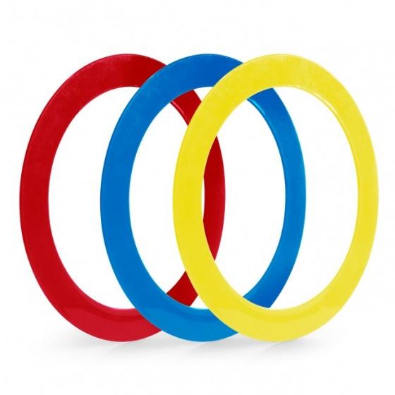 Acrobat jongleerringen 32 cm 3 delig