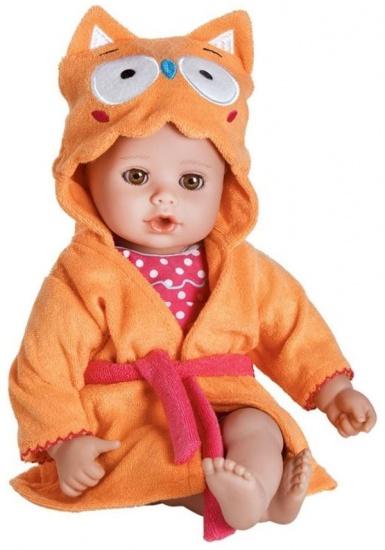 Adora BathTime Babypop Uil 33 cm oranje / rood