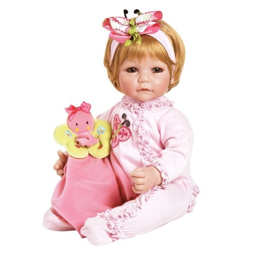 Adora Toddler Time Baby Butterfly Boo roze meisjes 51 cm