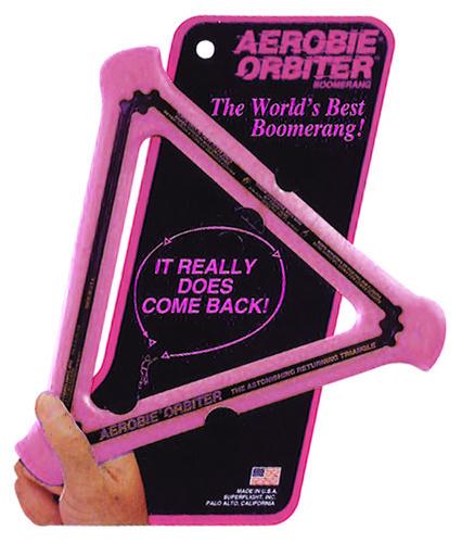 Aerobie boomerang Orbitor rubber roze