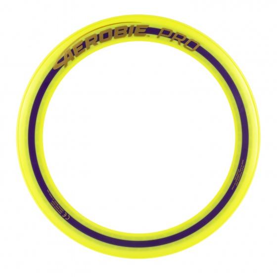 Aerobie frisbee Pro Ring geel 33 cm