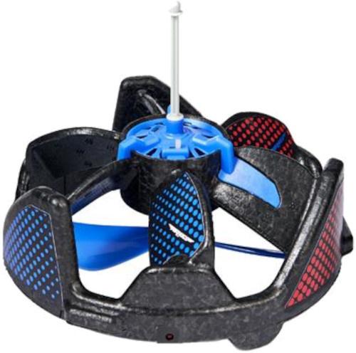 Air Hogs speelgoeddrone Gravitor junior zwart/blauw 2 delig