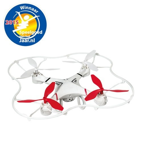 Air Raiders Focus Drone 26 X 26 cm Wit / Rood