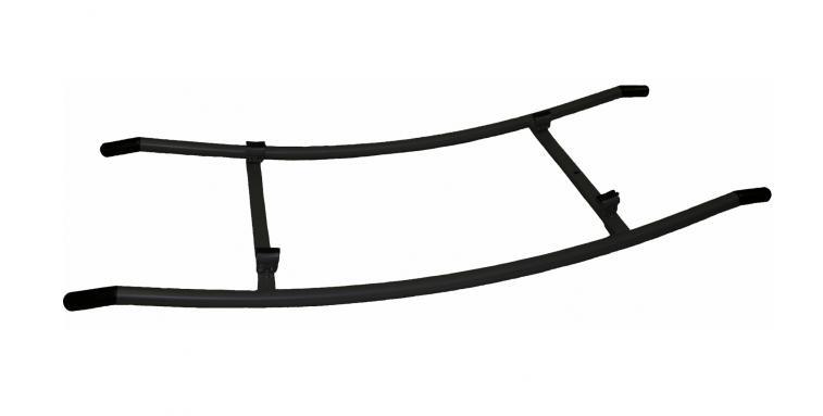 Airflow schommel retro rocker voor traptreinen zwart