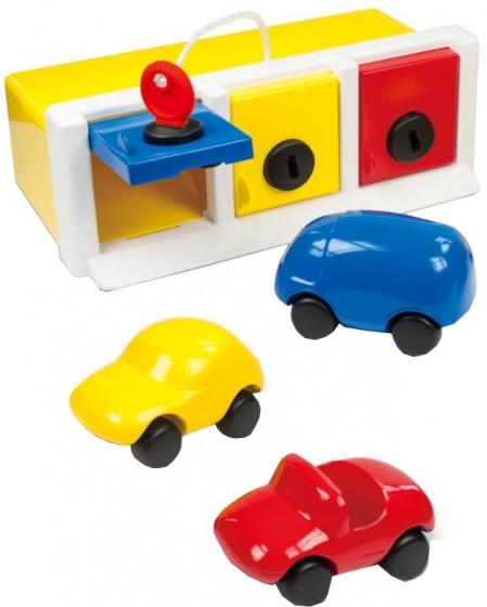 Ambi Toys Garagebox met speelgoedvoertuigen 3931079