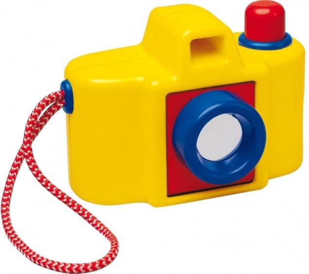 Ambi Toys speelgoedcamera Focus Pocus 12,5 cm blauw