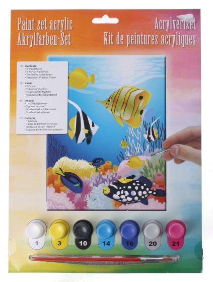 Amigo acrylverfset aquarium 10 delig