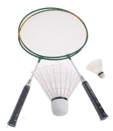 Amigo Badmintonset Giant groen 33 cm