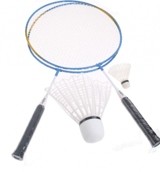 Amigo Badmintonset Giant blauw 33 cm