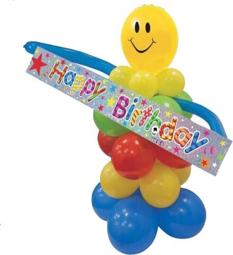 Ballonnenset 'HAPPY BIRTHDAY'