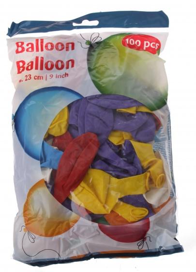Amigo ballonnen 23 cm 100 stuks