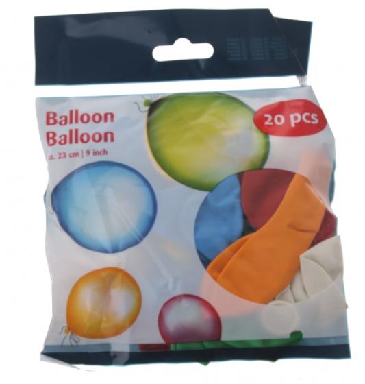 Amigo ballonnen 23 cm 20 stuks