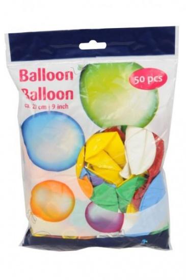 Amigo Ballonnenset 50 stuks 23 cm