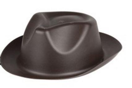 Amigo Cowboyhoed junior kunststof bruin