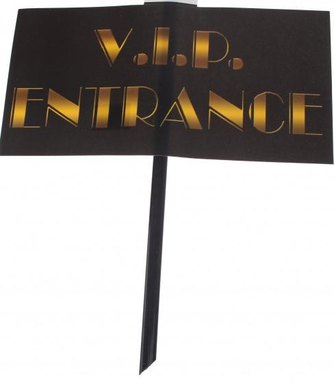 Amigo feestbord V.I.P. entrance 48 x 38 cm