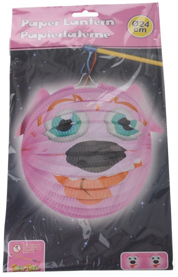 Eddy Toys lampion hond papier 24 cm