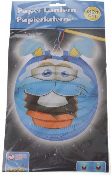 Eddy Toys lampion konijn papier 24 cm