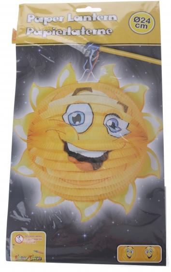 Eddy Toys lampion zon papier 24 cm