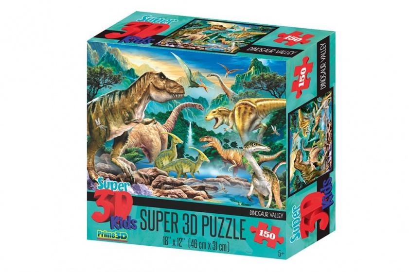 Prime 3D legpuzzel 3D Dinosaurus vallei 150 stukjes