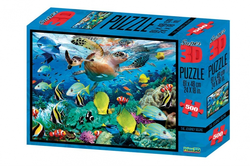 TOM legpuzzel 3D onderwaterwereld 500 stukjes