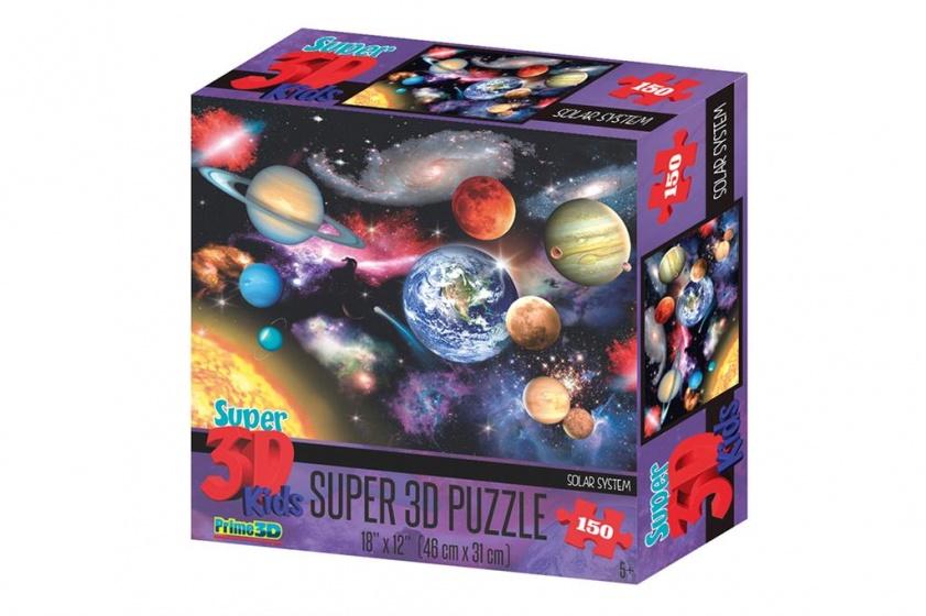 Amigo legpuzzel 3D Zonnestelsel 150 stukjes