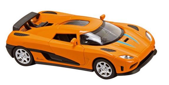 Amigo Metalen Sportwagen Momentum: 14 cm Oranje