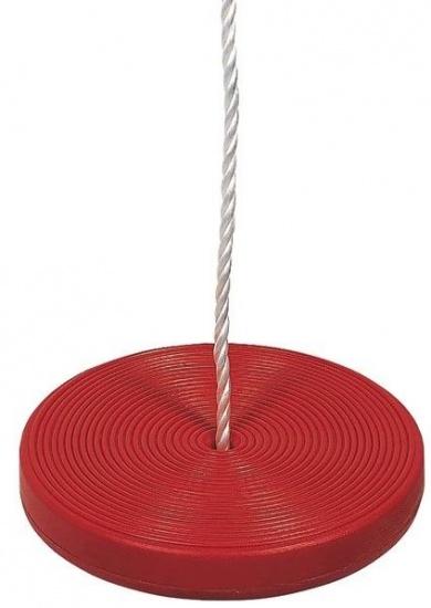 Amigo Schotelschommel kunststof 180 x 30 cm rood