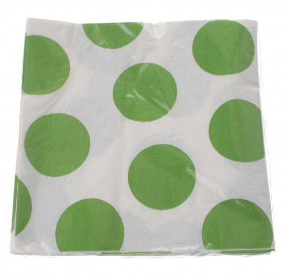 Amigo servetten 33 x 33 cm 20 stuks groen