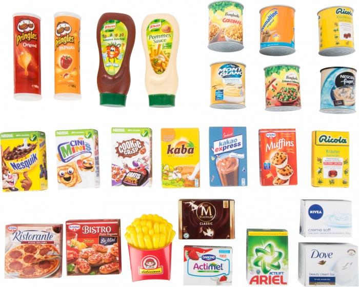 Amigo speelgoedeten bekende merken 25 delig