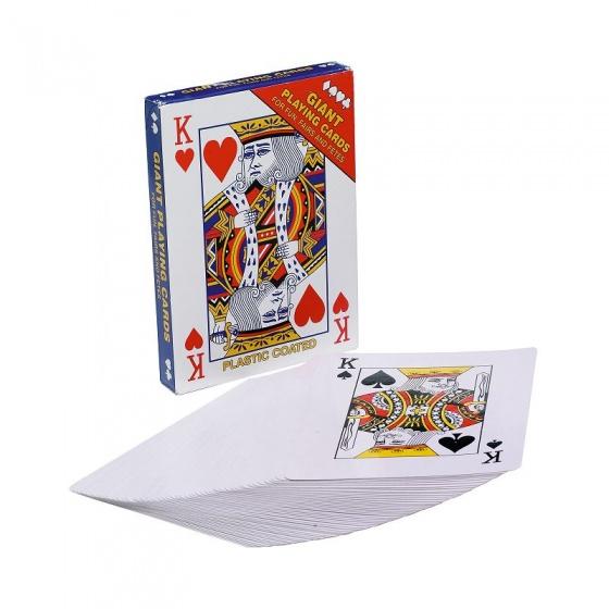 Amigo Speelkaarten extra groot 12 x 17 cm