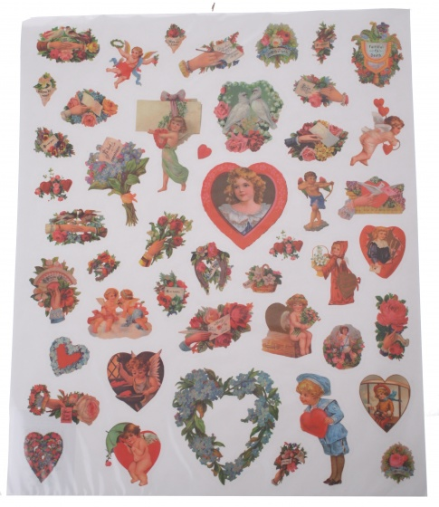 Amigo stickervel hart 44 delig