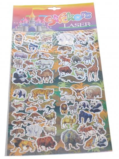 Amigo Stickervel jungle 19 x 30 cm