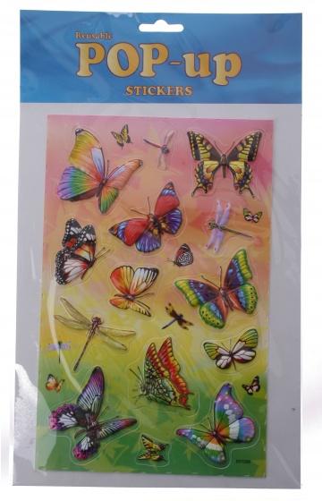 Amigo stickervel vlinders 14 delig