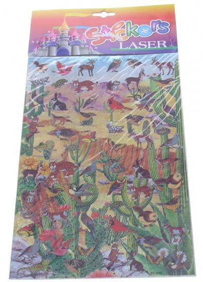 Amigo Stickervel woestijn 19 x 30 cm