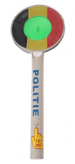Amigo stopbord Belgische politie 33 cm
