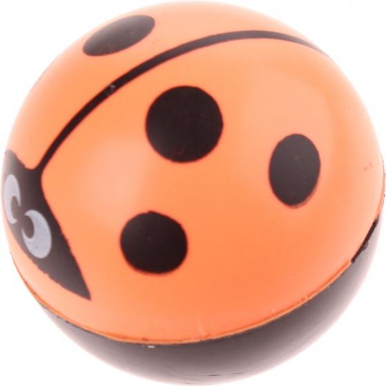 Amigo Stuiterbal Lieveheersbeestje 45 mm Oranje